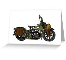 '42' WLA in colour  Greeting Card