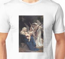 Angels with Jesus and Mary Unisex T-Shirt