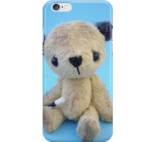 'Scruffy Sooty' Handmade bears from Teddy Bear Orphans iPhone Case/Skin
