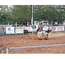 Rodeo Round Up Photographic Print