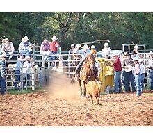 Rodeo Round Up 2 Photographic Print