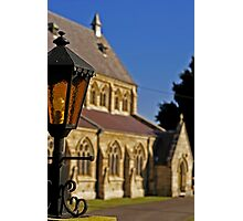 Anglican Church Photographic Print