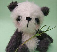 'Meiko' the Panda - Handmade bears from Teddy Bear Orphans by Penny Bonser