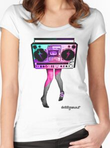 DancinHard Women's Fitted Scoop T-Shirt