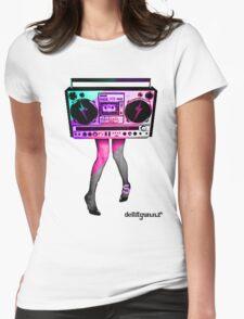 DancinHard Womens Fitted T-Shirt
