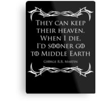 Quotes Metal Print