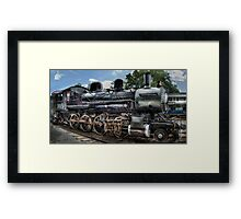 Baldwin 2-8-0 Consolidation Locomotive Framed Print