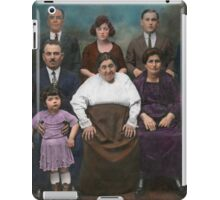 Americana - This is my family 1925 iPad Case/Skin