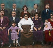 Americana - This is my family 1925 by Mike  Savad