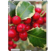 Holly Berries iPad Case/Skin