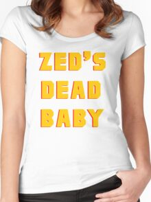 Zed's Dead, Baby! Women's Fitted Scoop T-Shirt