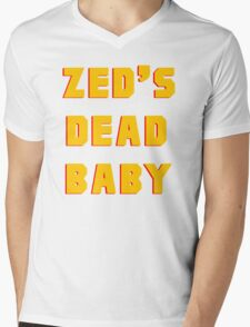Zed's Dead, Baby! Mens V-Neck T-Shirt