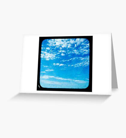 Dusty Skies Greeting Card