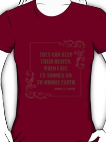 Quotes T-Shirt