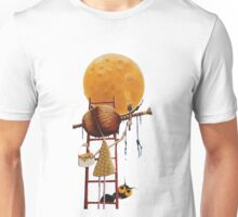 Painting the moon Unisex T-Shirt
