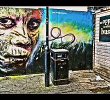 Dale Grimshaw in Camden by Tim Constable