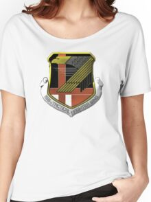 Yellow Squadron Insignia Women's Relaxed Fit T-Shirt