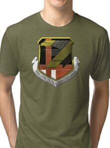 Yellow Squadron Insignia Tri-blend T-Shirt