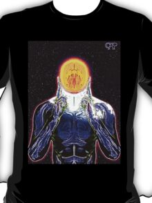 MIND #2 - Expanded Consciousness Psychedelic Thinking Man Telepathic Character Design T-Shirt