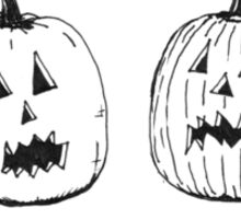 Antiwrinkle Stuff Pumpkins - Comic Sticker
