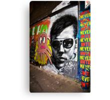 Hosier Lane,Melbourne-2007 Canvas Print