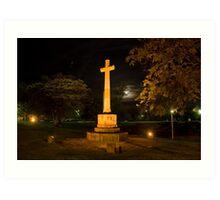 Adelaide by night.jpg Art Print