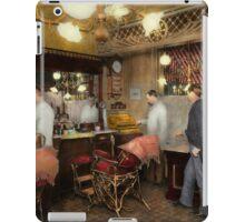Barber - L.C. Wiseman Barbershop, NY 1895 iPad Case/Skin