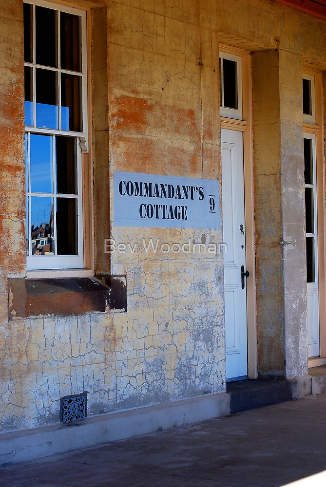 Commandant's Quarters - Fort Scratchley Circa 1886 - Newcastle NSW by Bev Woodman