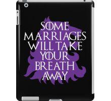 Purple Wedding iPad Case/Skin