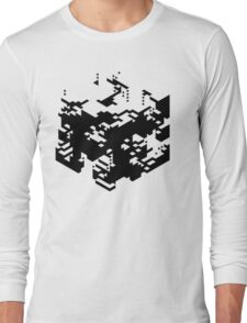 Isometric Decay Long Sleeve T-Shirt