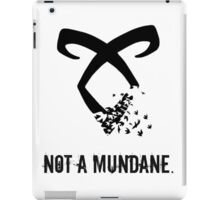 Shadowhunter. iPad Case/Skin