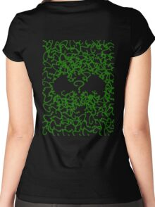 Riddle Me Batsh*tcrazy Women's Fitted Scoop T-Shirt