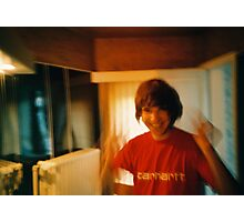 Lomo - Mr. wig Photographic Print