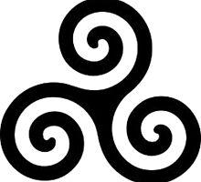 triple spiral / triskele by Rosa Metgod
