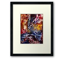 Dragon's Lair Framed Print