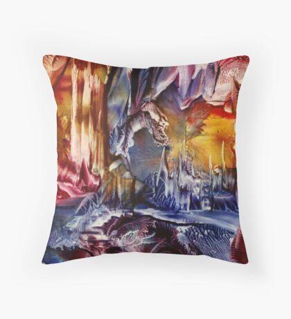 Dragon's Lair Throw Pillow