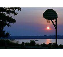 Slam Dunk Sunset Photographic Print