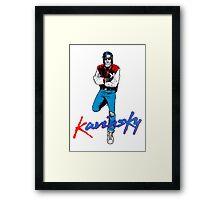 The Kavinsky Framed Print