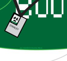 Stanley the Computer Programming Ghost Sticker