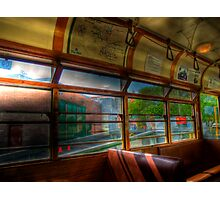 Old Strathcona Trolley Photographic Print