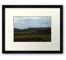 White Horse-Sutton Bank Framed Print