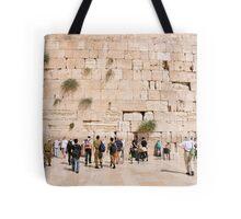 The wailing wall, Old City, Jerusalem, Israel Tote Bag