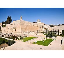Israel, Jerusalem, Haram esh Sharif (Temple Mount)  Photographic Print