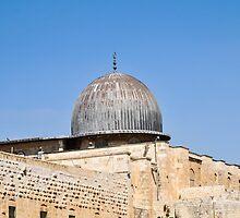 Israel, Jerusalem, Haram esh Sharif (Temple Mount) by PhotoStock-Isra