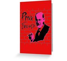 Pink Freud 2 Greeting Card