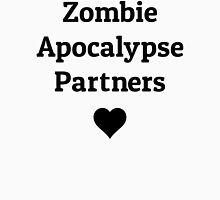 zombie apocalypse partners heart Unisex T-Shirt