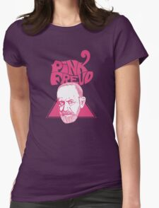 Pink Freud 3 Womens Fitted T-Shirt