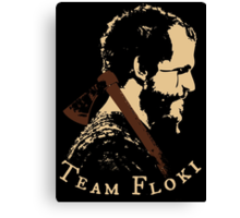 Team Floki - VIKINGS Canvas Print