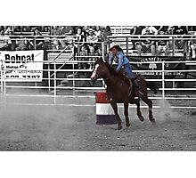 The rodeo- select color Photographic Print