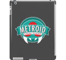 Metroid Cartography and Bounty Hunting iPad Case/Skin